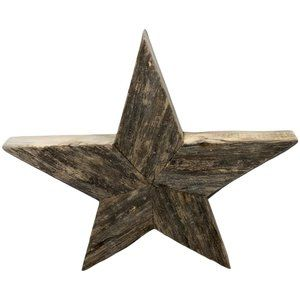 Rustic Reclaimed Barn Wood Hand Crafted Star